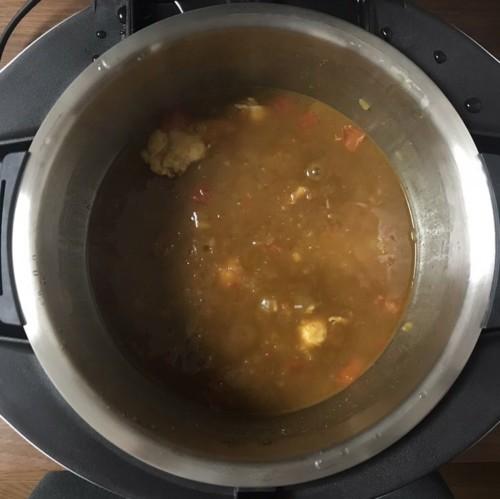 cooking procedure 4